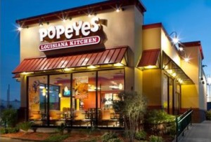 Popeyes front